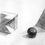 鉛筆デッサン/静物
